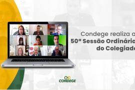 Condege realiza a 50ª Sessão Ordinária do Colegiado