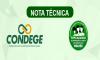 NOTA TÉCNICA – CPDDM/CONDEGE - URGENTE